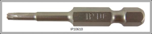 """Vessel Industriebit für Torx-Plus-Schrauben POWER BIT 1/4"""" HEX E6.3  IP 10 X Ø3.96 X 49(mm)"""