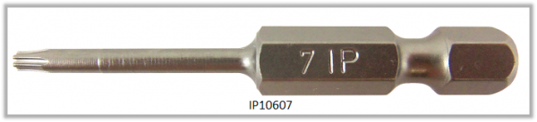 "Vessel Industriebit für Torx-Plus-Schrauben POWER BIT 1/4"" HEX E6.3  IP 7 X Ø3.18 X 49 (mm)"