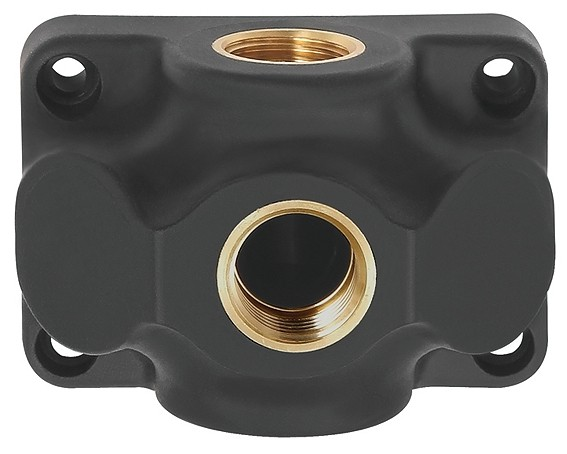 End distributor socket, Input G 1/2 - 3/4, Connection 1 - 3 x G 1/2