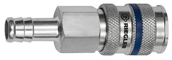 Quick-connect coupling I.D. 7.8, Steel, Sleeve I.D. 6 - 13