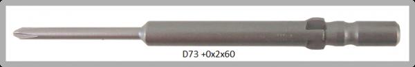 Vessel Industriebit für Phillips-Schrauben WING SHANK BIT Ø4mm PH 0 X Ø2.0 X 20 X 60 (mm)