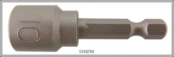 """10 Stück  Vessel HEX Steckschlüssel POWER BIT 1/4"""" HEX E6.3  A/F 10.0 X Ø16.0 X 50 (mm)"""