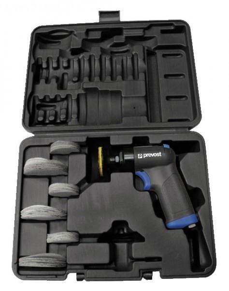 Pistolen-Schwingschleifer 50 und 75 mm Prevost TPS E16000K im Koffer mit Zubehör