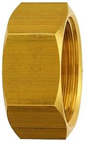 Verschlusskappe (Sechskant-Ausführung), G 1/8 - 1, SW 13 - 36, Messing
