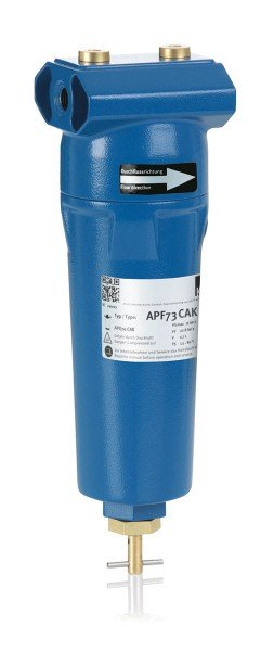 KSI ECOCLEAN® Activated carbon cartridge filters CAK