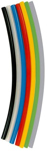 Polyurethane hose, Hose Ø 4x2 - 10x8, clear, Roll of 25 m