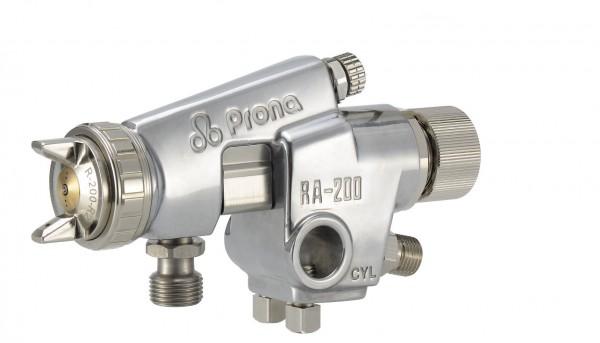 Set Automatik Farbspritz Luftpistole Prona RA-2 mit Fließbecher