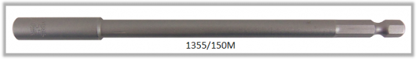 """10 Stück  Vessel magnetische HEX Steckschlüssel POWER BIT 1/4"""" HEX E6.3  A/F 5.5 X Ø9.0 X 150 (mm)"""