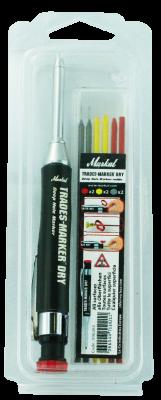 MARKAL Trades-Marker Dry Tiefloch-Marker für schwer zugängliche Stellen Starter Pack Inhalt MOWOTAS