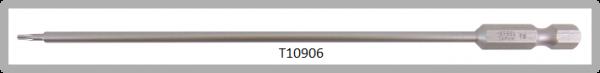 """Vessel Industriebit für Torx-Schrauben POWER BIT 1/4"""" HEX E6.3  TX 6 X Ø3.18 X 152 (mm)"""