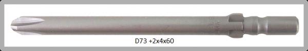 Vessel Industriebit für Phillips-Schrauben WING SHANK BIT Ø4mm PH 2 X Ø4.0 X 60 (mm)