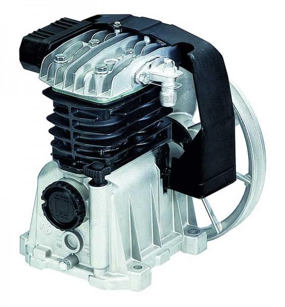 Fini compressor unit with parallel cylinder V-belt drive, single-stage