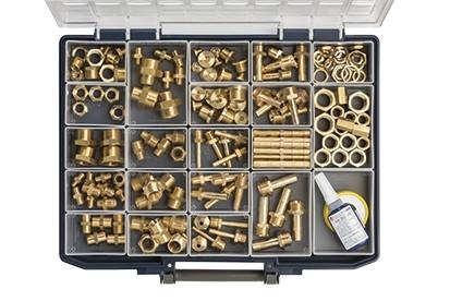 Assortment box brass rotating parts