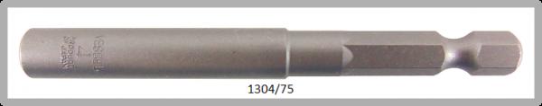 """10 Stück  Vessel HEX Steckschlüssel POWER BIT 1/4"""" HEX E6.3  A/F 4.0 X Ø8.0 X 75 (mm)"""