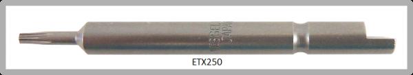 Vessel Industriebit für Torx-Schrauben HALF MOON BIT Ø4mm TX 5 X Ø2.0 X 20 X 44 (mm)