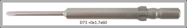 Vessel Industriebit für Phillips-Schrauben WING SHANK BIT Ø4mm PH 0 X Ø1.7 X 20 X 60 (mm)