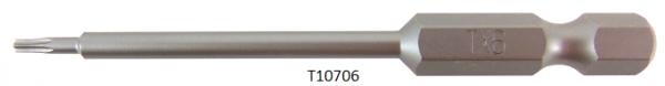 """Vessel Industriebit für Torx-Schrauben POWER BIT 1/4"""" HEX E6.3 TX 6 X Ø3.18 X 70 (mm)"""