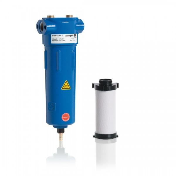 Wasser- und Partikelabscheider zu Aktivkohlefilter (Entöler)
