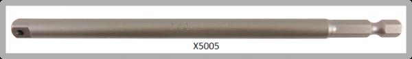 """Vessel POWER BIT 1/4"""" HEX E6.3 ADAPTER SQ 1/4"""" X 152 (mm)"""